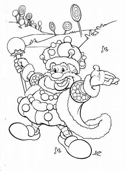 Candyland Candy Coloring Land Pages Characters Clip