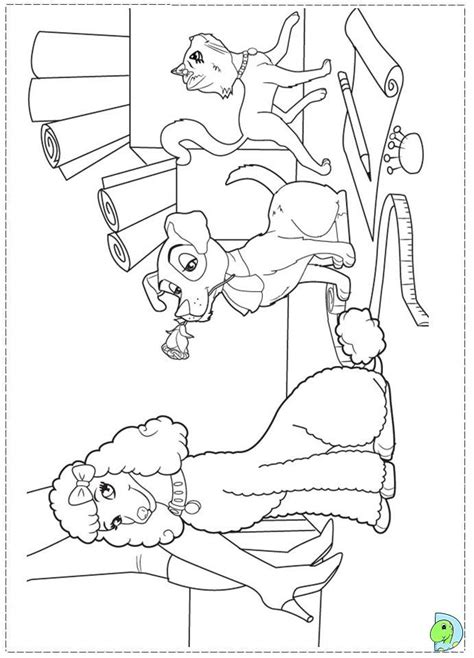 Coloring Pages Fashion Fairytale G Nial A Fairytale Coloring Pages Coloring Home