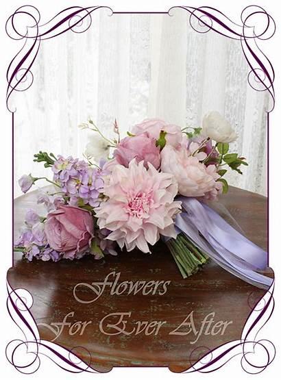 Bouquet Bridal Annette Silk Flower Flowers Floral