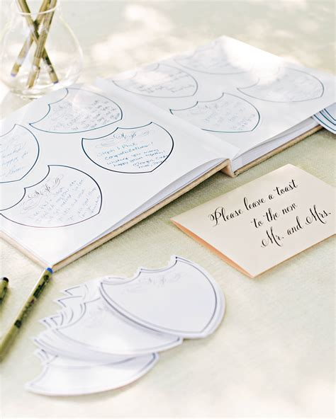 diy wedding guest book ideas martha stewart weddings