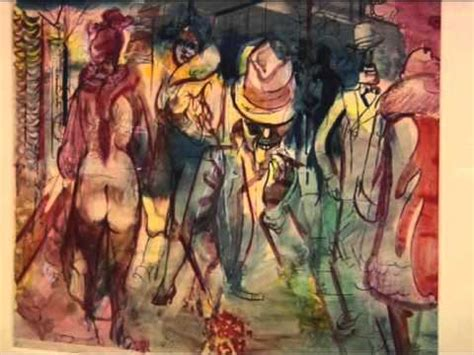 Georg Grosz - Ausstellung - YouTube