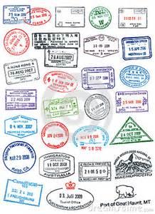 Passport Stamp Clip Art