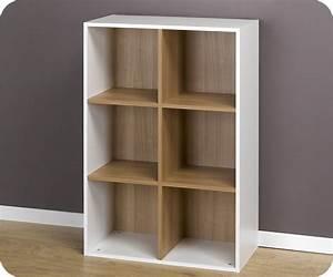 Etagere 6 Cases : achat vente etag res 6 cubes de rangement modulables blanc ~ Teatrodelosmanantiales.com Idées de Décoration