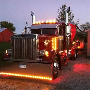 36 best images about lights on big rigs on pinterest semi trucks peterbilt 379 and trucks