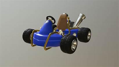Racing Crash Nitro Team Fueled 3d Kart