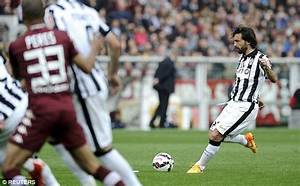 Andrea Pirlo scores another beautiful free-kick for ...