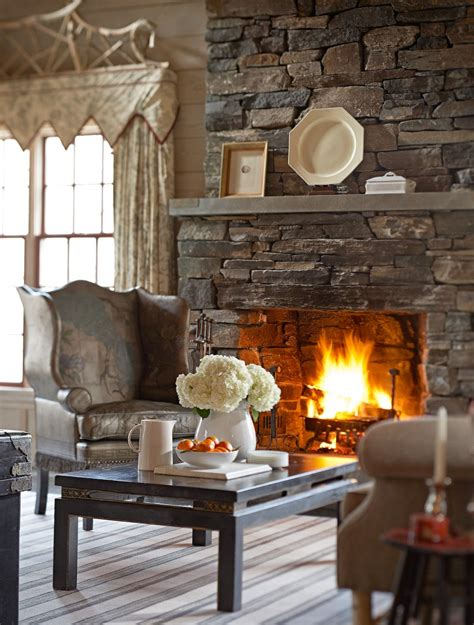 Request quote contact rep color selector. Twin Farms Hearth Detail - Kelly McGuill Home (With images ...