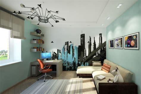 Wandfarbe Jugendzimmer Junge by Wandgestaltung Im Jugendzimmer 35 Beispiele Und Ideen
