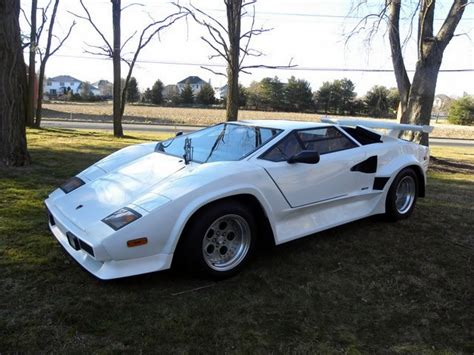 lamborghini countach  replicabuilt  exotic