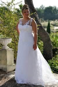 robe de mariã e grande taille tati top 20 des robes de mariée grande taille 2016
