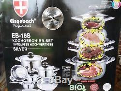eisenbach professional  piece high quality cookware set