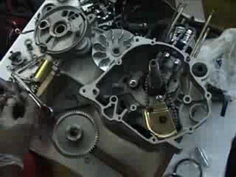 building  scooter engine  scratch cn  honda clone