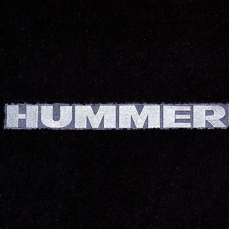 hummer h3 custom floor mats 2006 2010
