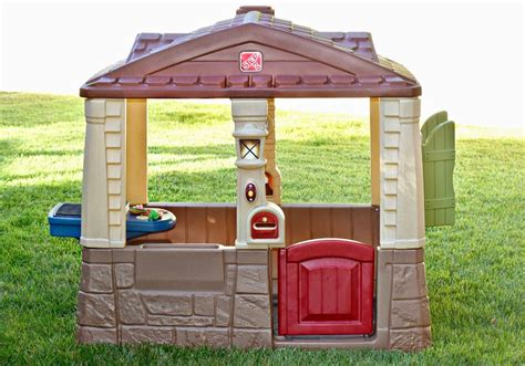 neat and tidy cottage step2 neat tidy cottage ii a playhouse for toddlers