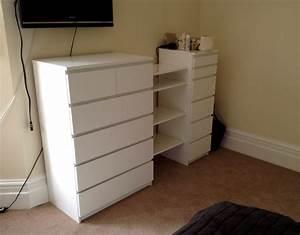 Ikea Wickelkommode Malm : ikea malm drawers besta shelf hack flat pack dan ~ Sanjose-hotels-ca.com Haus und Dekorationen