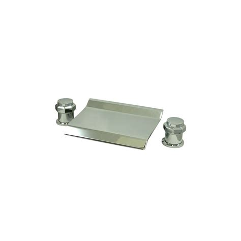 kohler tub waterfall faucet faucet ks2241ar in polished chrome by kingston brass