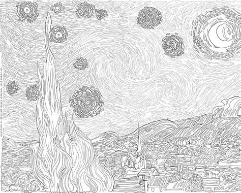 Free Art History Coloring Pages