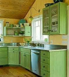 small kitchen color ideas small kitchen designs in yellow and green colors