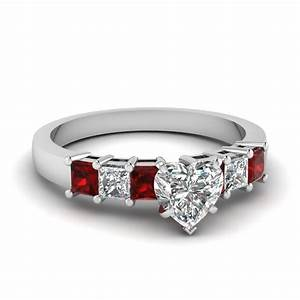 Shop for exclusive side stone engagement rings online for White diamond wedding ring