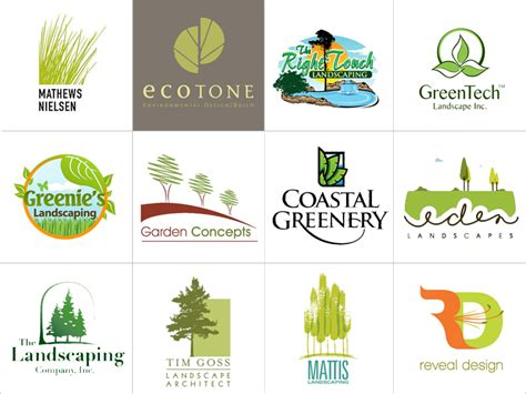 landscaping logo design