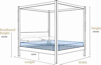Bed Poster Four Frame Beds Dimensions Delivery
