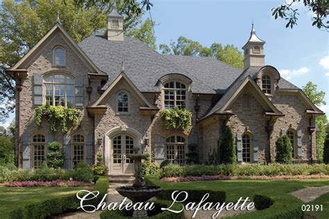 country european house plans chateau lafayette country house plan