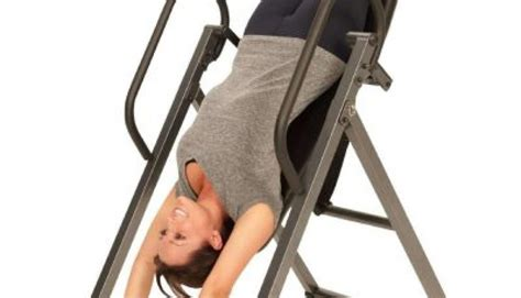 how does an inversion table work back pain myhealthbynature com
