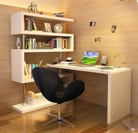bureaux originaux le bureau avec étagère designs créatifs