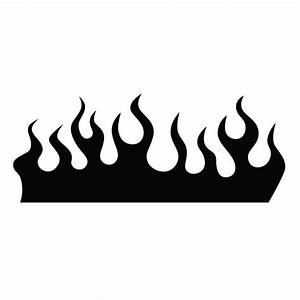 Black And White Flame Illustrations, Royalty-Free Vector ...