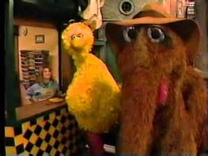 Sesame Street Snuffy Big Bird