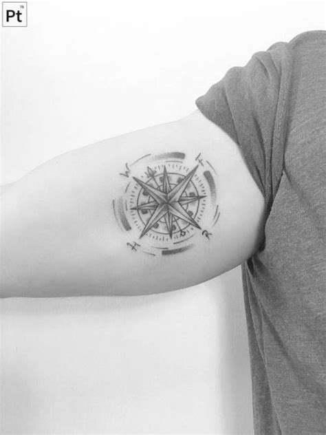 compass tattoo on Tumblr