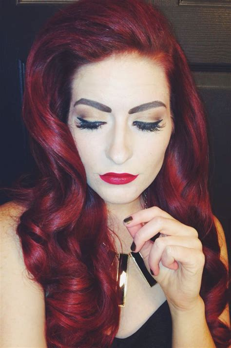 Pin Up Hair Red Hair Long Hairstyles Wedding