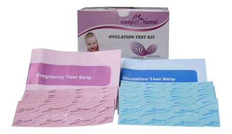 test pregnancy easy urine ovulation kit strips amazon lh combo tests hcg kits predictor pregnant larger lines read health