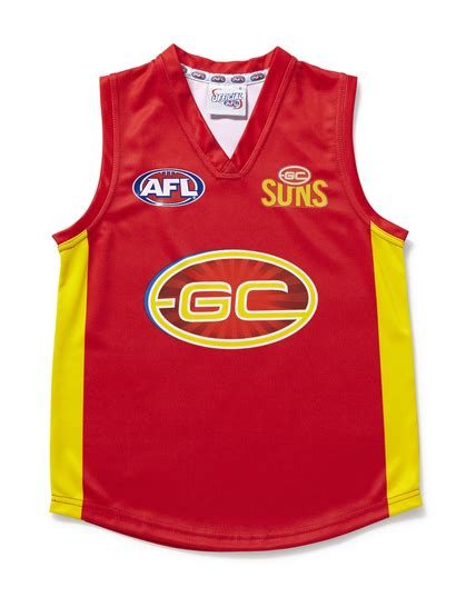 gold coast suns merchandise clothes best less online