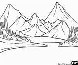 Montagne Montañas Colorearjunior Jeziora Krajobraz Góry Nounouduveron Landschaft Abetos Kolorowanki Woda Krajobrazy Montanas Faceis Montanhas Oncoloring sketch template
