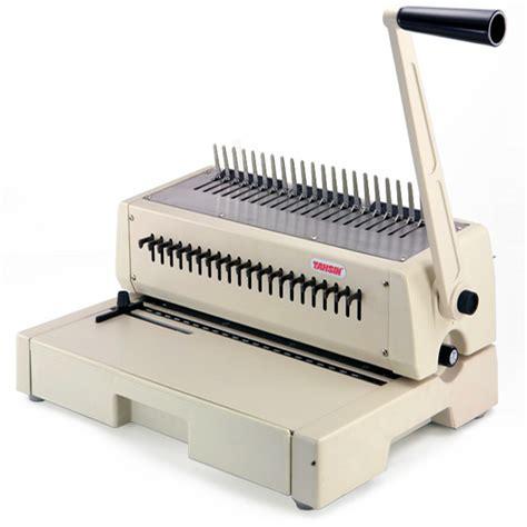 tahsin binding machine pb comb binder office zone