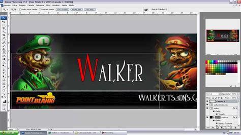 banner template de ts3 como fazer um banner para team speak 3 photoshop 3 youtube