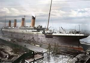 Titanic in Colour: Photographer colours black and white ...