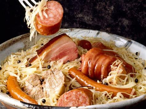 accessoires de cuisine choucroute alsacienne recettes femme actuelle