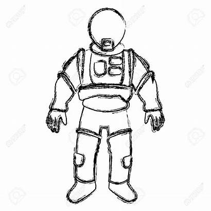 Space Helmet Clipart Astronomy Drawing Suit Clipartmag
