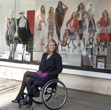 heels oxford wheelchair user set to become disabled model to