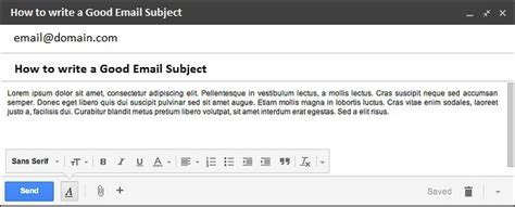 What To Write In An Email Subject When Sending A Resume by How To Write Great Email Subject Lines