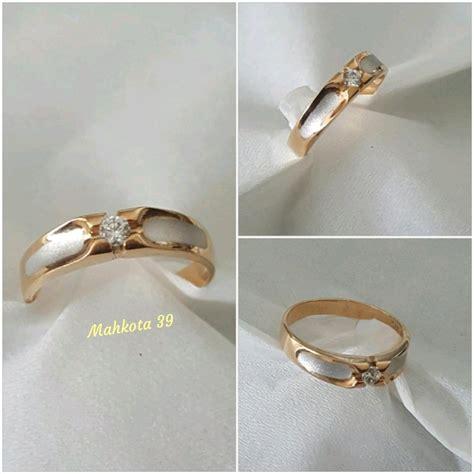 jual murah cincin emas berlian natural di lapak mahkota 39 rzl39