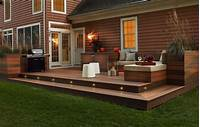 low deck designs Deck Lighting Ideas That Bring Out The Beauty Of The Space
