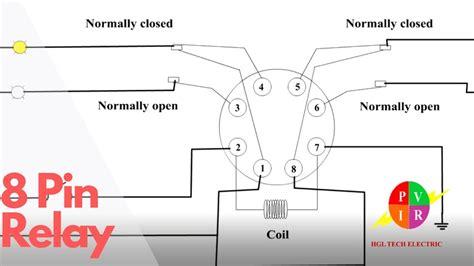 Pin Relay Electric Relays Principles