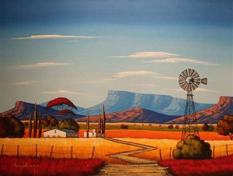 bid or bay acrylics windmill original painting by nicky