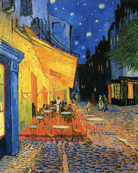 Hangterrasse Anlegen by Gogh Paintings Cafe Terrace Place Du Forum Arles