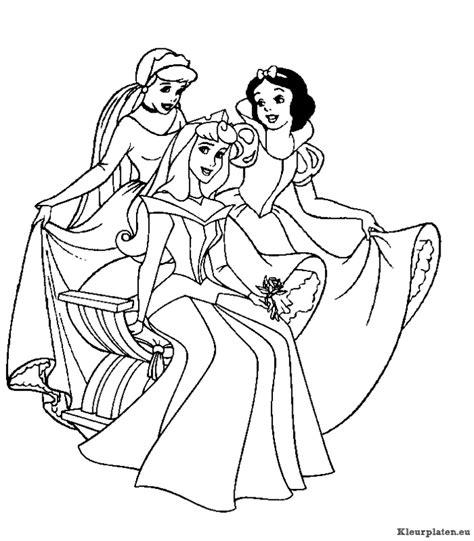 Prinsessen Kleurplaat Disney by Prinsessen Kleurplaten Kleurplaten Eu