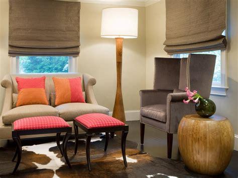 pink decorating ideas  living rooms hgtv