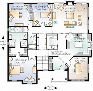 classic style homes country style homes w2191 maison With plan de maison plain pied 120m2